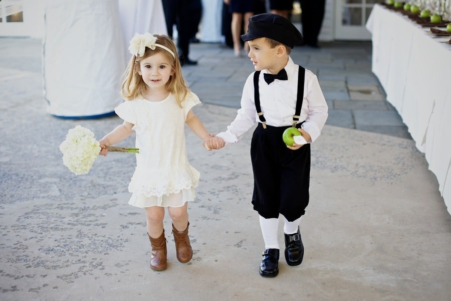 ring bearer and flower girl duties