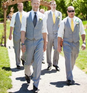 traditional wedding processional