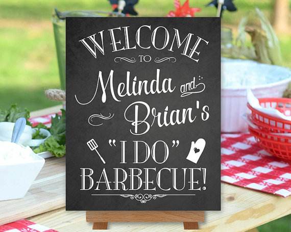 backyard barbecue wedding
