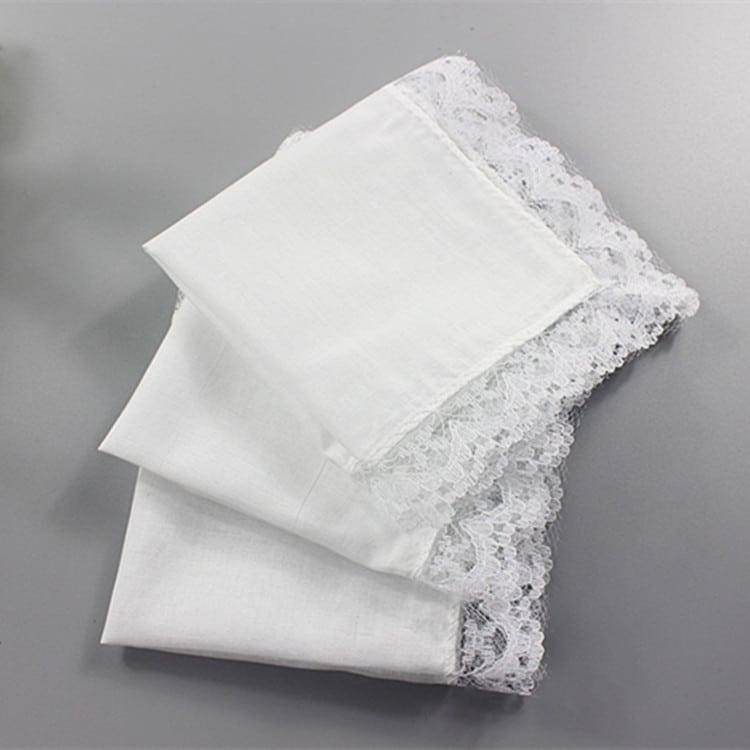 wedding dress into napkins