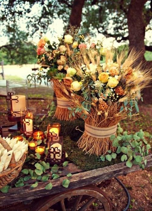 thanksgiving themed wedding