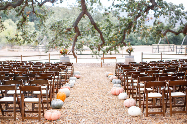 thanksgiving themed wedding