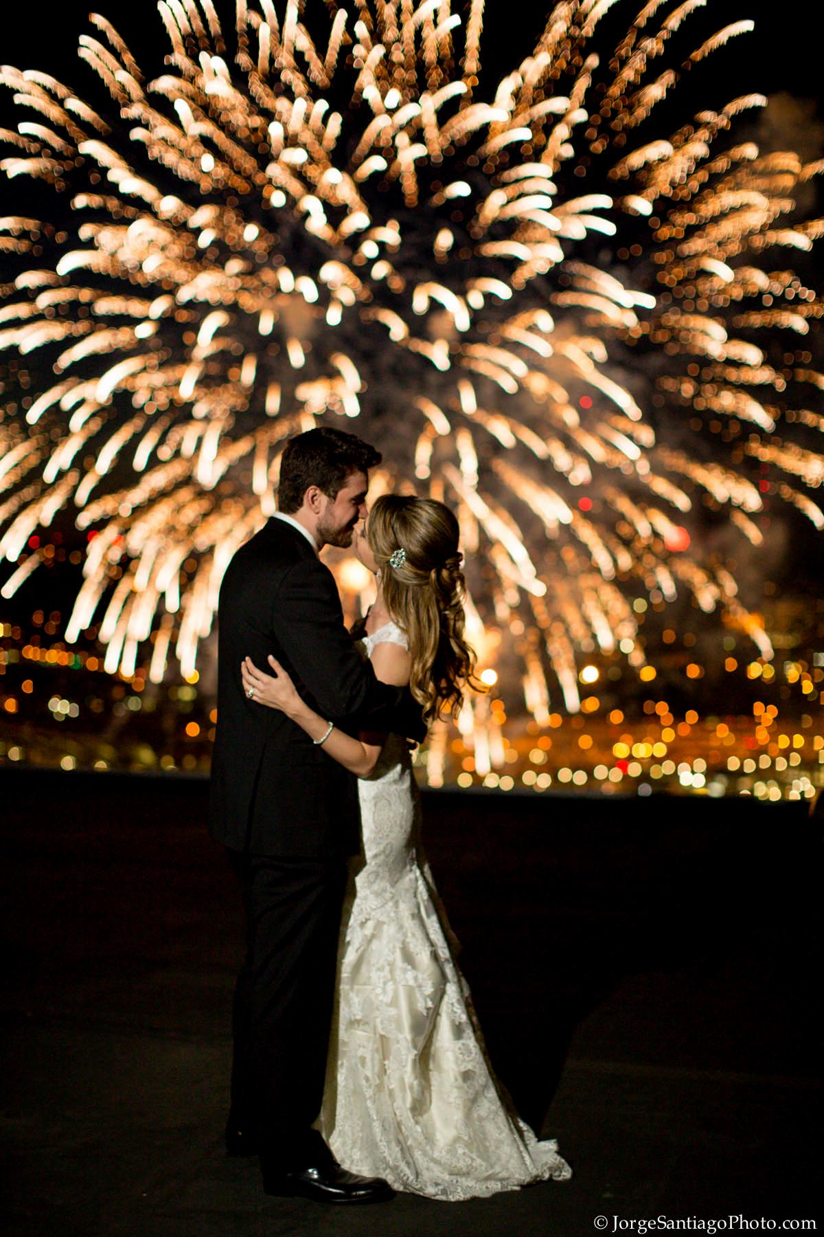 independence day themed wedding