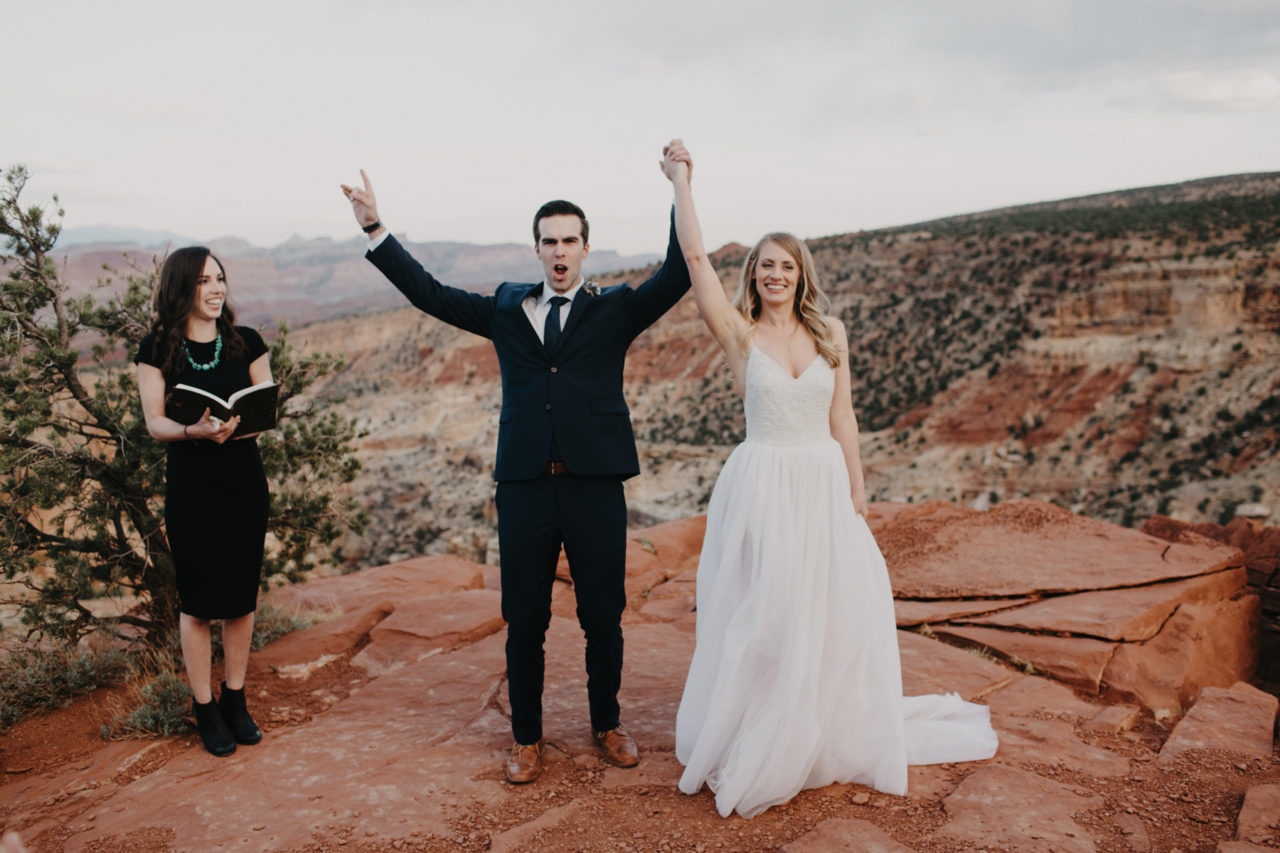 national park elopement