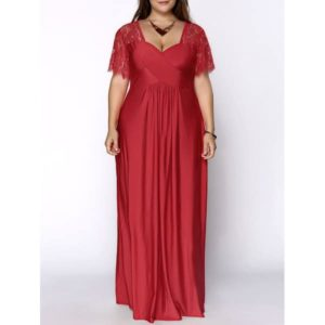 sweetheart neckline plus size bridesmaid dresses