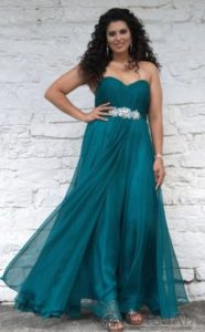 teal plus size bridesmaid dresses