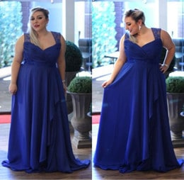royal blue plus size bridesmaid dresses