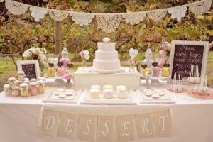 wedding cake table ideas