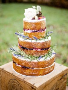 rustic country wedding cake ideas
