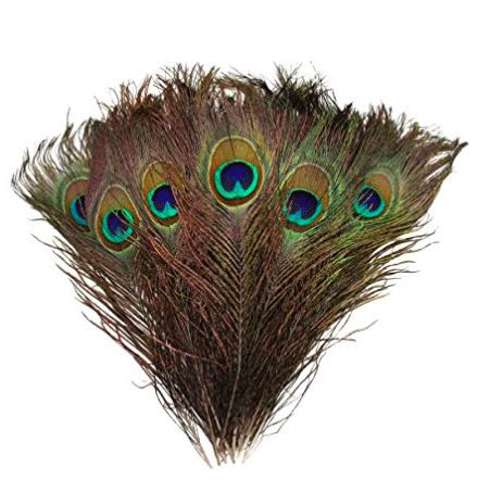 DIY peacock wedding invitations