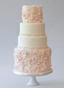 chic wedding cake ideas
