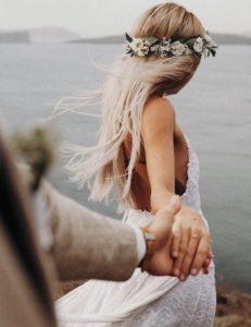 boho wedding poses