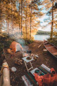 fall camp site