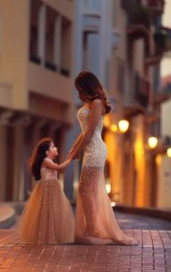 matching mother daughter outfits