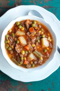 beef vegetable soup