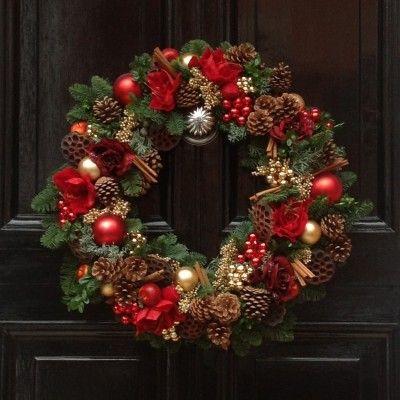 christmas wreath holiday
