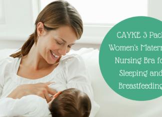 CAYKE nursing bra