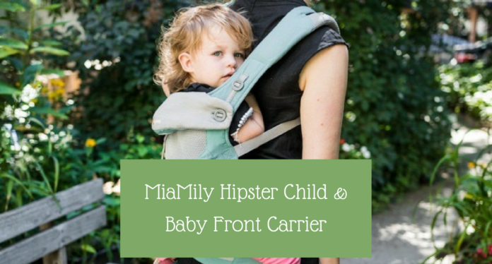 MiaMily Hipster Child & Baby Front Carrier