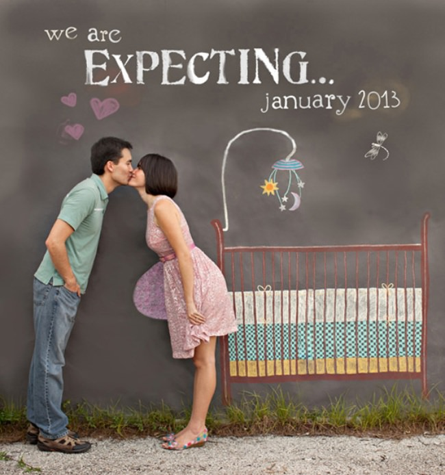 pregnancy announcement