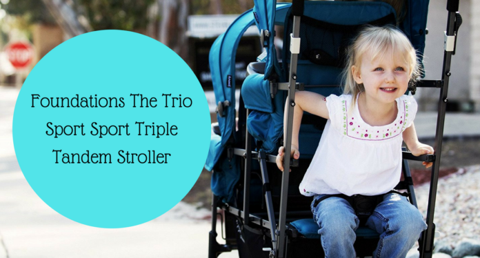 Foundations The Trio Sport Sport Triple Tandem Stroller