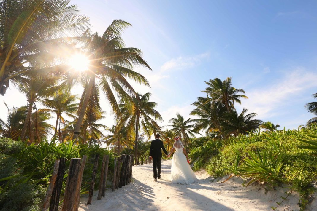 wed in Caribbean