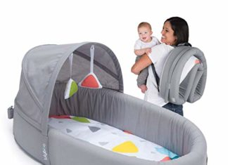 Lulyboo Bassinet to-Go Premium Newborn Infant Baby Portable Play Mat and Travel Bed Co-Sleeper, lulyboo baby lounge to go, baby lounge, babylounge to go, lulyboo baby lounge, baby lounger bed, lullyboo baby lounge set, travel sheets, portable bed for infants, on the go baby bed, co sleeper, lounge bed, bed lounge reviews,