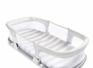 SwaddleMe By Your Side Sleeper, co sleeper, by your side, co sleeper bassinet, baby co sleeper, swaddleme co sleeper, summer infant by your side sleeper, summer infant sleeper, co sleeper reviews, best co sleeper, best co sleeper for breastfeeding, summer infant by your side sleeper reviews, summer infant swaddle me review