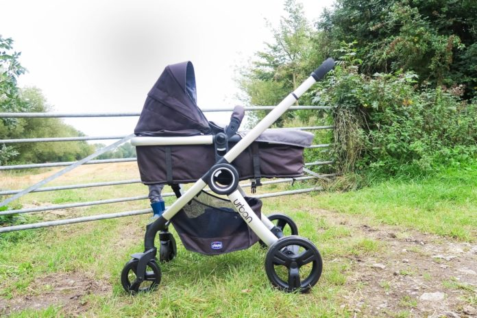 chicco urban stroller in infant carriage mode