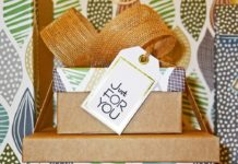 Care package ideas in pretty boxes