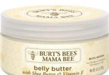 burt's bees mama bee stretch mark cream